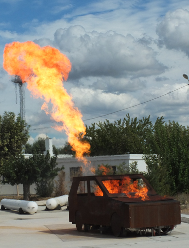 Stichflamme LPG 2